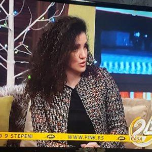 """GOSTOVANJE: TV PINK – """"24 ČASA"""